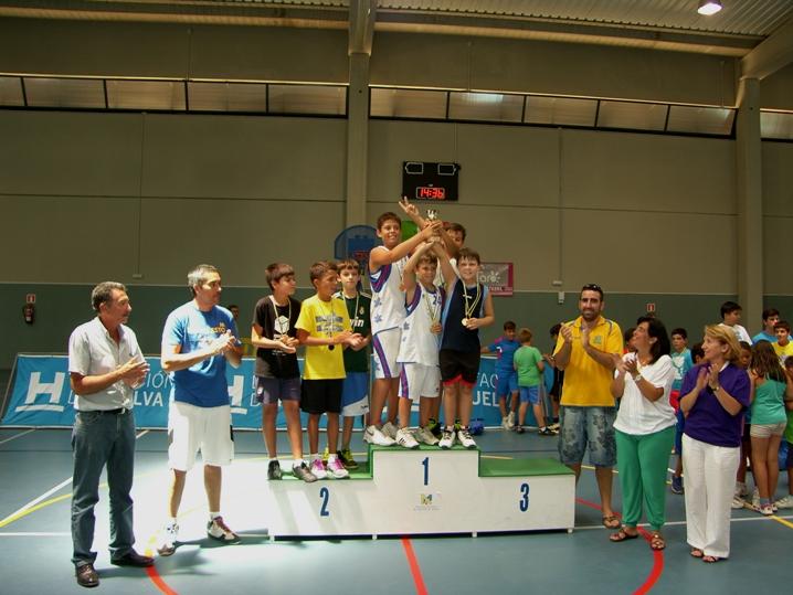 El 3×3 de baloncesto de Mazagón congregó a 44 equipos