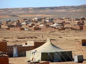 Imagen de los campamentos de refugiados del Sahara. / Foto: culturasdelatierra.blogspot.com.