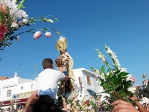 La Virgen del Carmen volverá a procesionar en Punta Umbría el 15 de agosto.