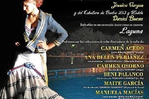Cañaveral de León viste un año más de lunares y volantes a la Sierra con su VI Certamen de Moda Flamenca