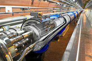 Una imagen de un acelerador de partículas.