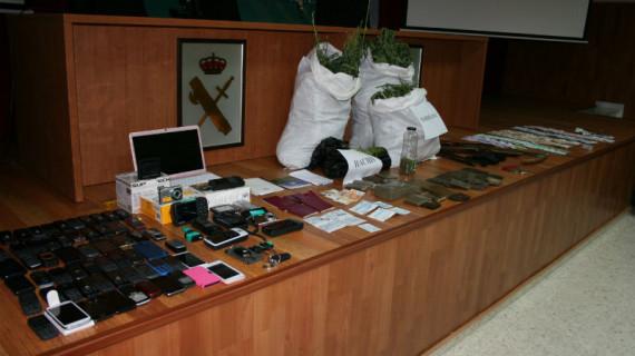 Desarticulada una importante organización de narcotraficantes que operaba en la provincia de Huelva