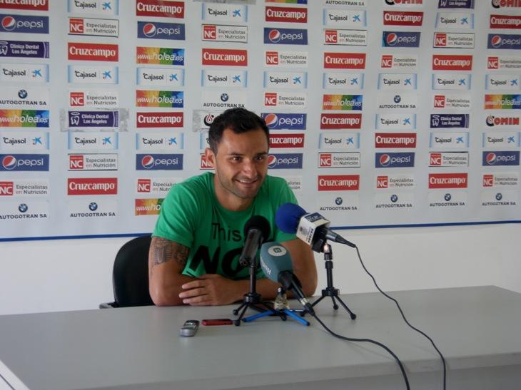 Cifu durante la rueda de prensa / A. Bermejo