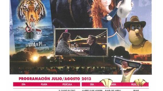 Arranca el ciclo de Cine de Verano en Ayamonte