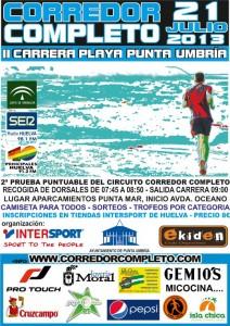 Cartel Corredor completo Punta Umbría