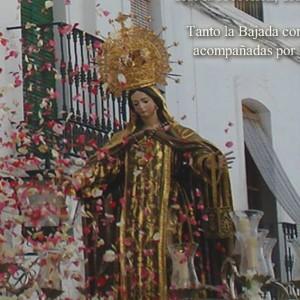 Virgen del Carmen en Galaroza.