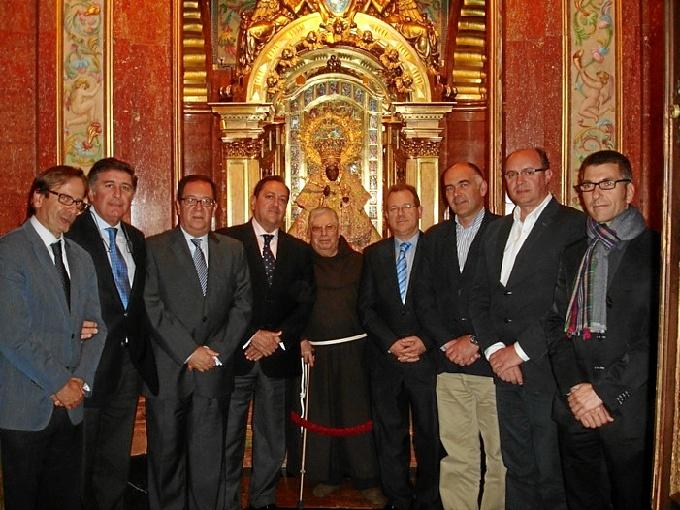 Los presidentes de los Colegios de Farmacéuticos que se incluyen en la Asociación.