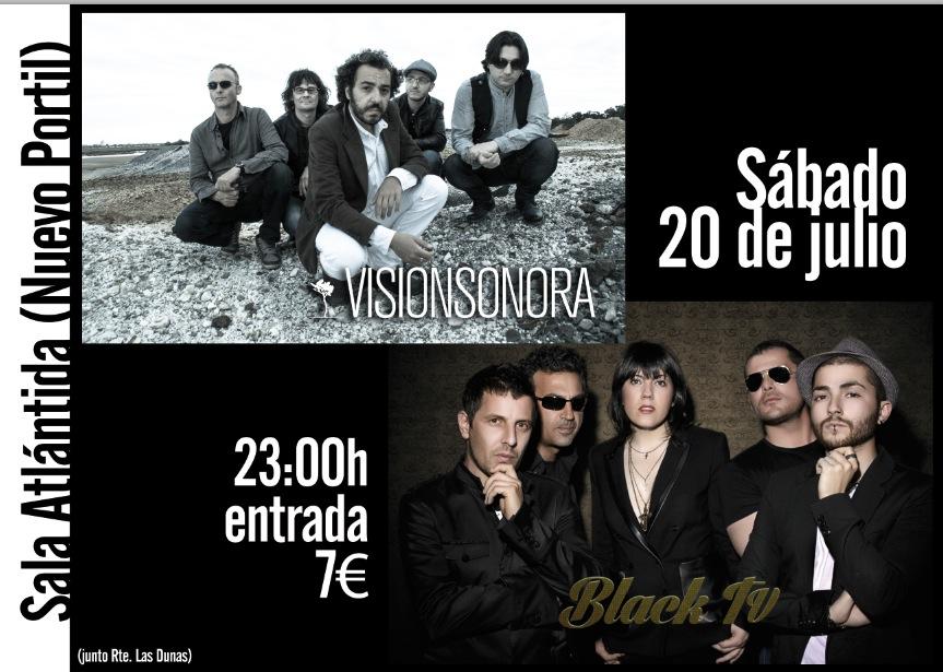 Black TV y Visión Sonora actuan el 20 de julio en Nuevo Portil.