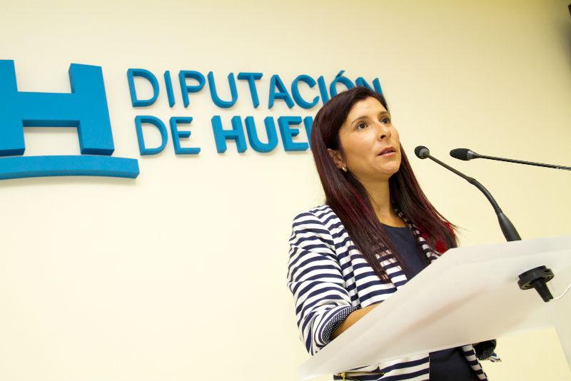 La diputada Esperanza Cortés.