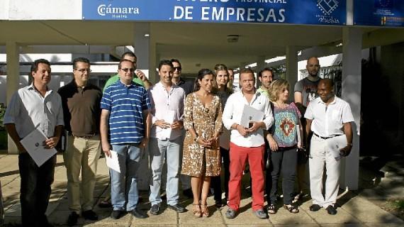 El vivero de empresas de la Diputación acoge a ocho nuevos emprendedores