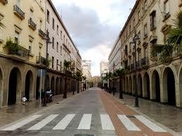 La Gran Vía de Huelva. /Foto: huelvaworld.blogspot.com