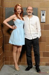 Cristina Castaño y José Luis Gil. / Foto: www.facebook.com