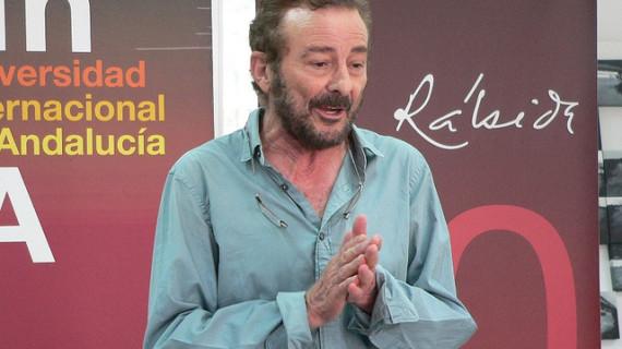 El actor Juan Diego reflexiona en La Rábida sobre la cultura dentro del curso 'Miradas de cine'