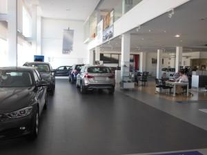 Interior del Concesionario BMW en Huelva (Autogram)