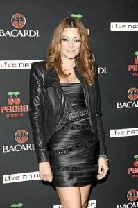 La presentadora y actriz participa en el certamen con dos cortometrajes.