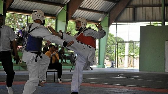 El onubense Luis Romero Serrano, Medalla de Oro de Taekwondo en el Festival de Deporte Fronterizo de República Dominicana