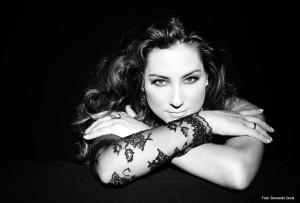 La artista Marina Heredia.