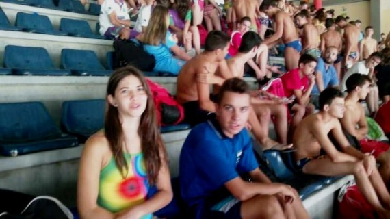 Los nadadores onubenses comienzan con buen pie en el Campeonato de Andalucía infantil