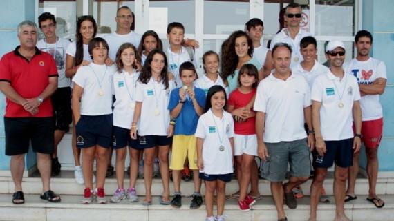 Brillante actuación de los piragüistas del Real Club Marítimo de Huelva