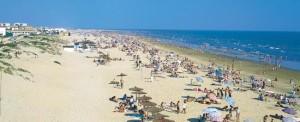 Playa de Punta Umbría. / Foto: spain.info.