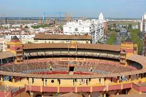 Plaza de Toros de La Merced de Huelva.