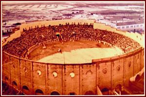 Plaza de toros de Huelva. / Foto: elpaseilloenlared.blogspot.com.es