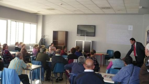 Taller de prevención de accidentes en el hogar dirigido a los mayores de Huelva