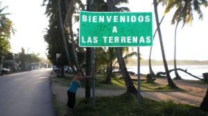 Entrada a la zona de Las Terrenas.