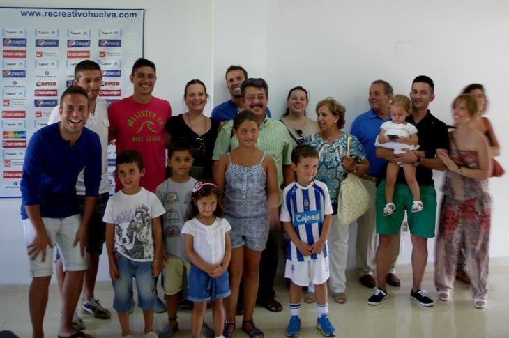 Jesús Vázquez con familia y amigos / A. Bermejo