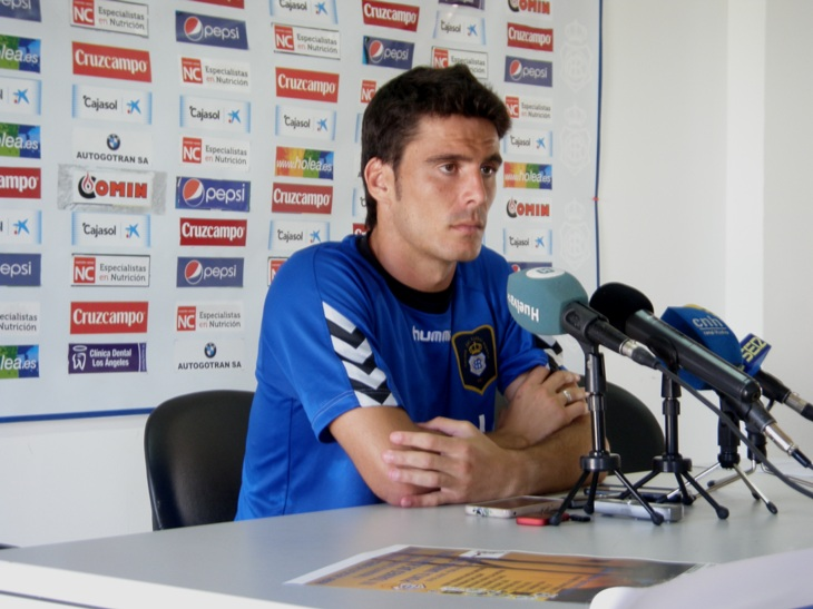 Zamora en rueda de prensa / Foto: A. Bermejo.