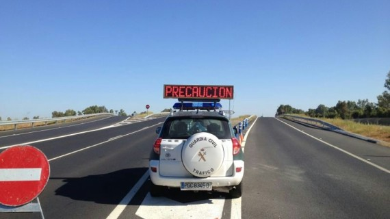 La Guardia Civil intensifica sus controles de seguridad vial durante el fin de semana
