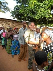Su estancia en Benin es la que más le ha marcado.