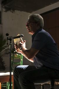 Antonio Miravent, en el acto de Ayamonte. / Foto: Javi Losa.