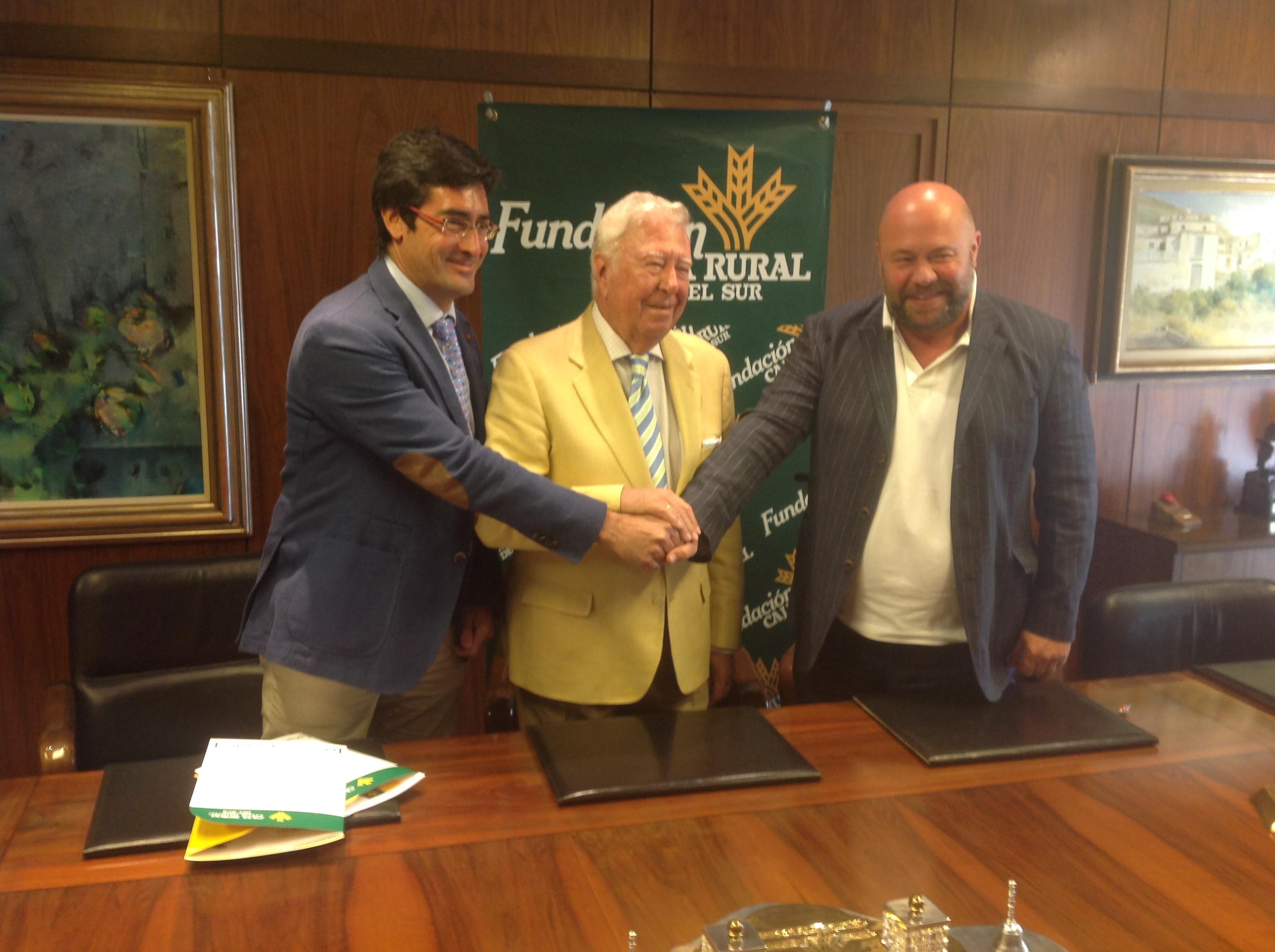 Caja Rural del Sur y su Fundación renuevan sus convenios de colaboración con la Fundación Recre