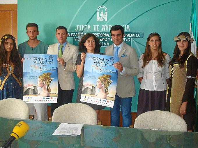 Las Jornadas Medievales de Cortegana han sido presentadas este lunes 5 de agosto en Huelva.