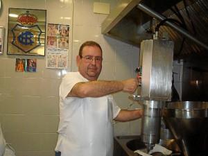Luis Fernando García continúa con la tradición familiar.
