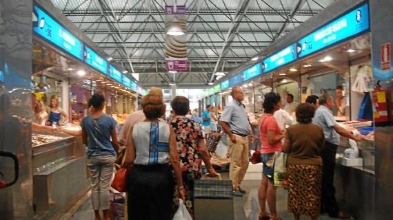 Zoco para el Mercado del Carmen de Huelva