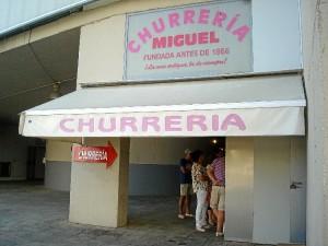 La Churrería Miguel es la más antigua de Huelva y de toda Andalucía.