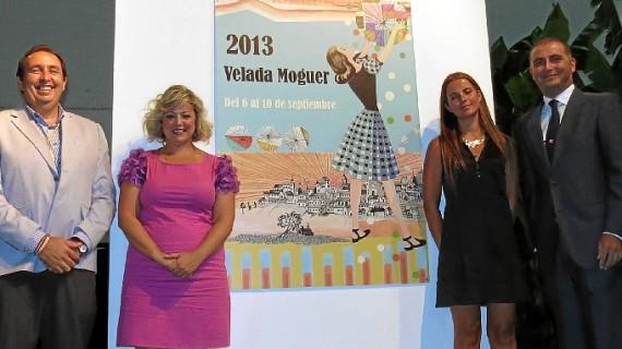 El Pórtico de Velada marca la cuenta atrás para las Fiestas Patronales de Moguer