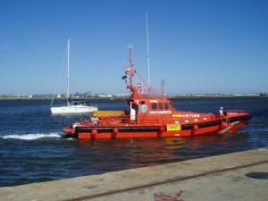 Imagen de archivo de la embarcación Salvamar Alborán.