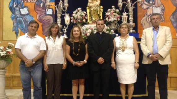 El sacerdote isleño Jesús Martín Franco pronuncia el IV Pregón a la Virgen del Mar