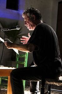 Eladio Orta también participó en el acto. / Foto: Javi Losa.
