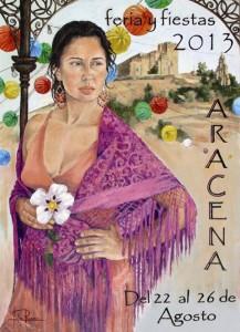 Cartel de las fiestas de Aracena.
