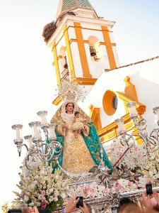La Virgen estará acompañada en su recorrido por la Banda.