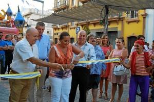 Un momento de la inauguración del Mercado Marinero.