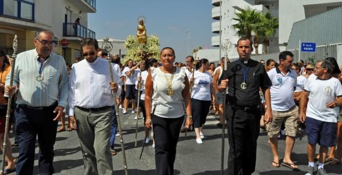 Finalizan las fiestas en honor a la Virgen del Mar en Isla Cristina