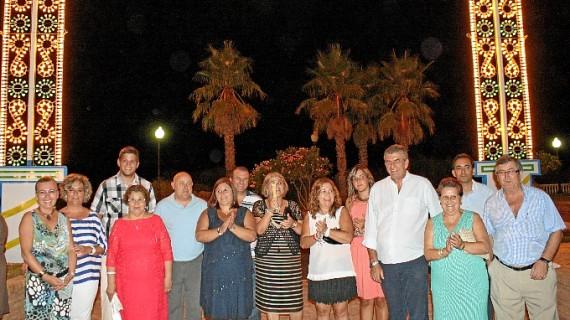Comienzan las Fiestas de Ntra. Sra. del Mar de Punta del Caimán en Isla Cristina con el encendido del alumbrado