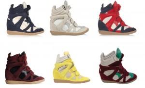 Las sneaker siguen siendo las más deseadas.