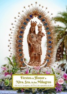Cartel anunciador de las Fiestas de Palos.