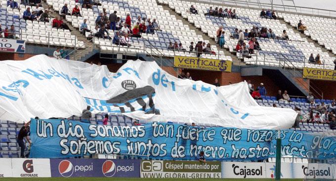 La afición del Recre está respondiendo y ya ha superado los 7.000 abonados. / Foto: Josele Ruiz.